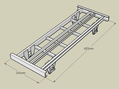 5 Inch gauge railway wagon CHD (part 3)